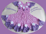 Платье «Дюймовочка»   с цветами по подолу - 2