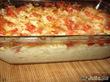 Омлет из молодой капусты с помидорами и сыром