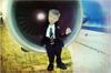 """портретная кукла по фото Алексей, пилот Аэросвит """"Aerosvit"""""""