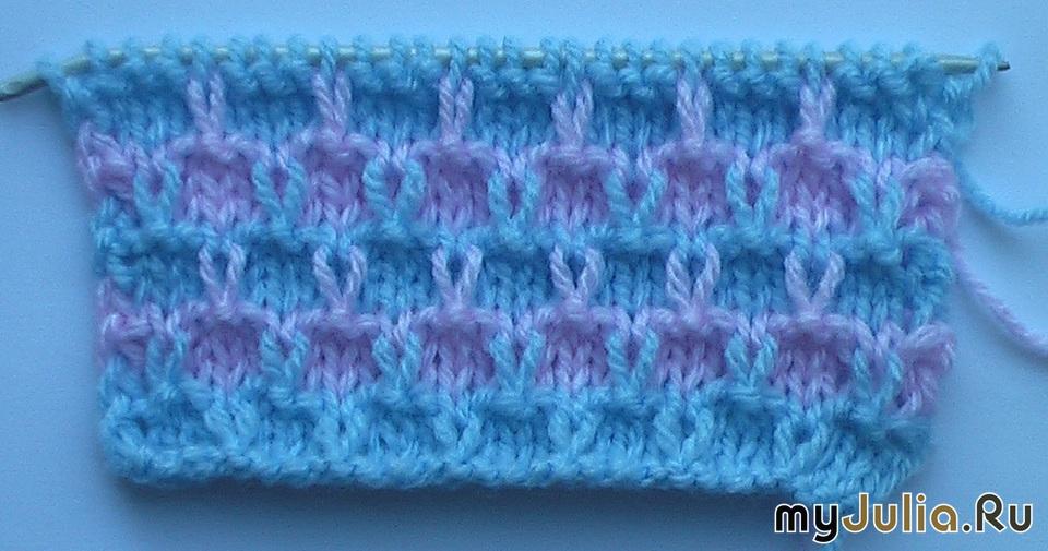 Вязания | Многоцветный узор крючком