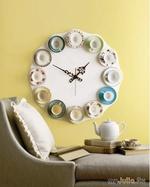 Время для чаепития: часы с чашками своими руками для тех кто любит рукодельничать