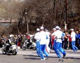 2 апреля 2008 Олимпийский огонь