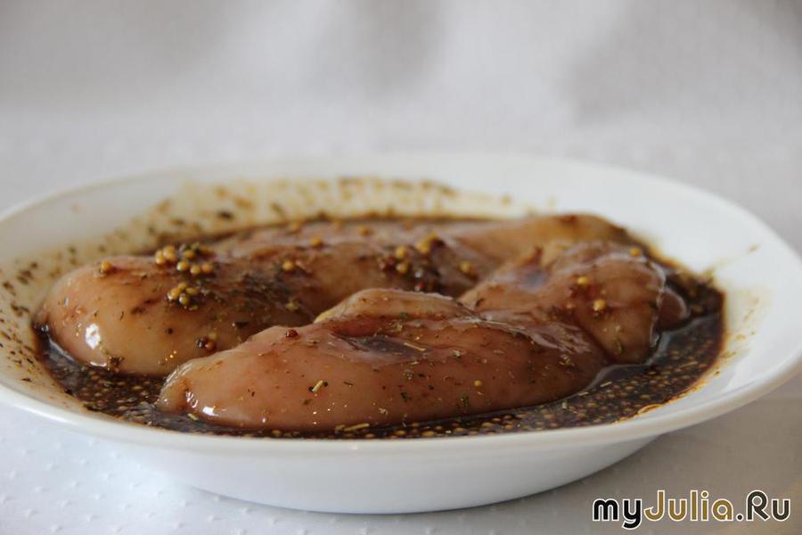 маринад из горчицы и соевого соуса для курицы