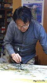 Великолепные акварели Абе Тошиюки