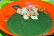 Суп-пюре из шпината и брокколи