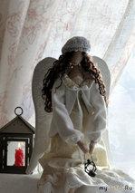 Ангелы в зимнем