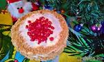 Новогодний блинный тортик