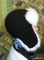 шапка мех+ шерсть