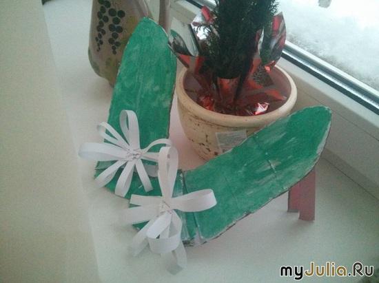 Мои кожаные итальянские туфли!! Дед Мороз подарил)))