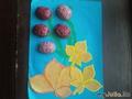 Тюльпаны для мамы из ореховой скорлупы от Глеба.
