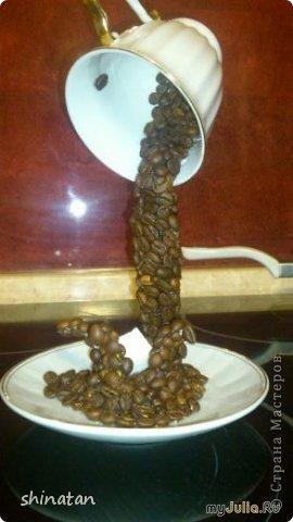 Поделка из спичек чашка с блюдцем