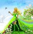 Царевна Весняна (маленькая сказочка о весне)
