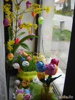Пасхальные яйца Тюльпаны