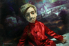 1 Портретная текстильная кукла по фото Андрей. Объёмное лицо. Необычный подарок