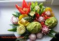 Овощной букет на Пасху
