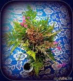 Моя  молодёжь постоянно приносит в  дом  полевые  цветы  с  прогулки