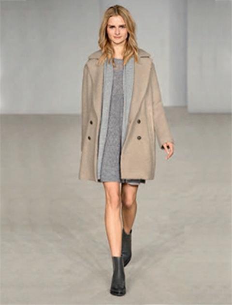 Весеннее нежное светлое пальто женское купить