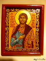 Св.Благоверный князь Александр Невский. Икона освящена в Свято-Троицком соборе Александро-Невской лавры.