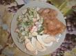 Легкий весенний ужин