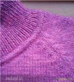 Как оформить  переход от горловины к воротнику вязаного свитера или джемпера,МК