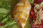 Куриные грудки с апельсиновым соусом+салат