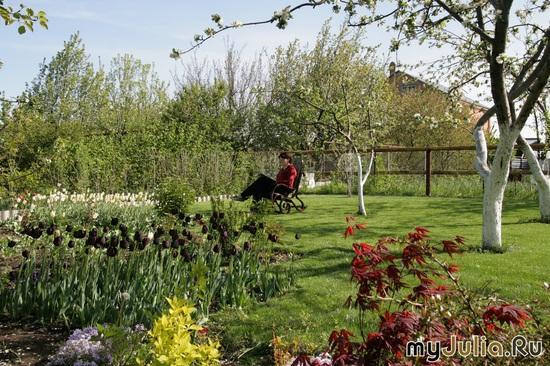Сад-прекрасное место отдыха