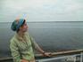 Холодный июнь, на палубе корабля. Волга...