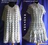работа модератора группы Santana Жилет (туника) большого размера и платье по одной схеме