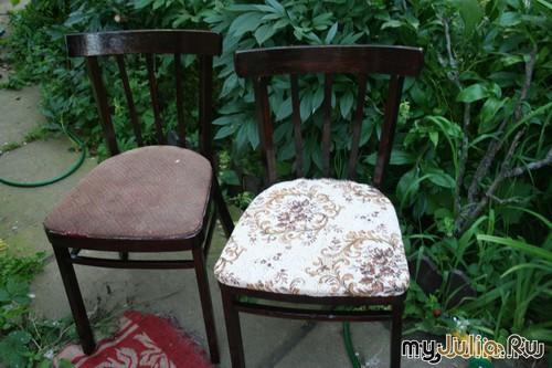 рестоврация стула работа  manashka