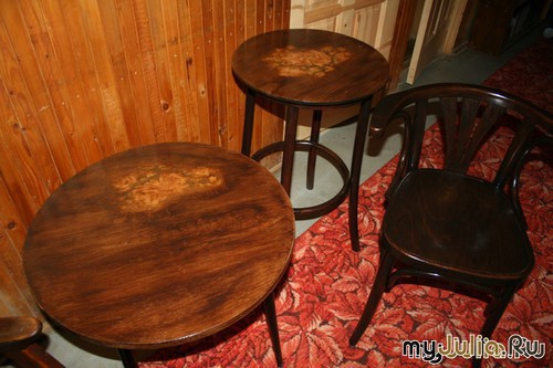 рестоврация столика работа manashka