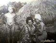 маленькая Галя с тетушкой, с. Рудое