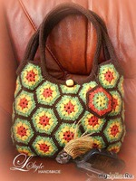 Вязаные сумки - красивые модели и МАСТЕР-КЛАСС по вязанию