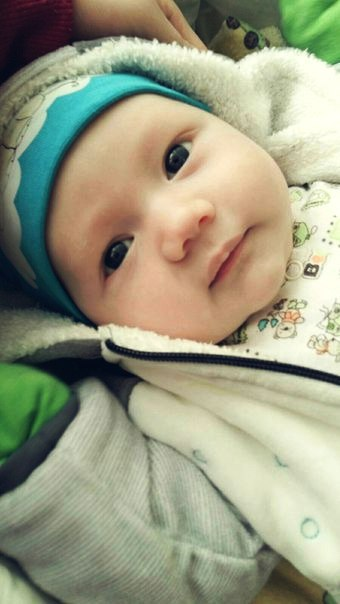 Данияльчику два месяца