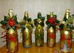 Делаем красочный подарок из обычной бутылки шампанского