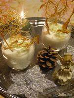 """Новогодний десерт"""" В замке Снежной Королевы""""."""