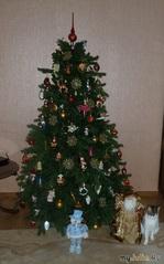 Новогодняя история. Кот и елка