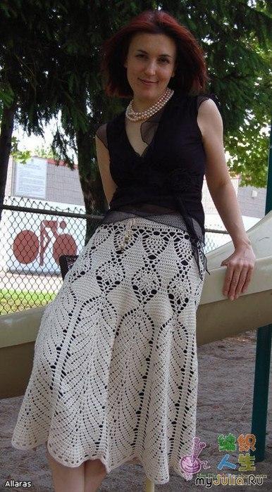 Красивая юбка крючком: Дневник группы «ВЯЖЕМ ПО ОПИСАНИЮ ...