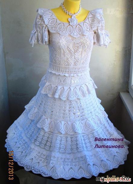 подарить бы вам платье из счастья стихи