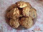 Печенье с геркулесом и шоколадом