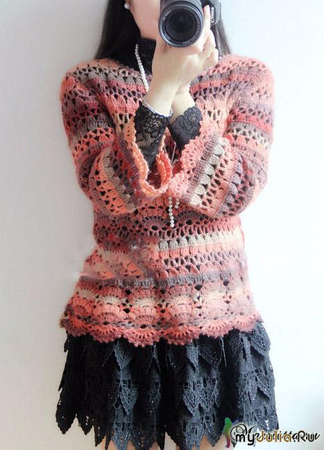 Пуловер Весенний