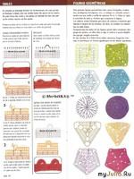 Вязание крючком - Базовый курс, основные приёмы и мотивы ~ расшифровка схем аргентинских журналов