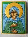 Св.бл.Ксения Петербургская. Икона 6 на 8 см. Освящена в Троицком соборе.