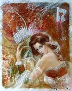 Очаровательные женские образы в работах литовского художника Станислава Сугинстаса