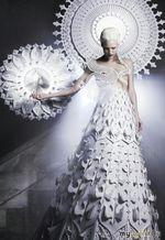 платья из необычных материлов