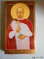 Св.мученик Евгений Боткин. Икона освящена в Троицком соборе.