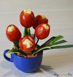 Тюльпаны в подарок в любое время года!