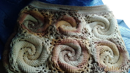 еще одна рис спирали Crochet sguare Квадр.мотивы крючком 357 на You Tube