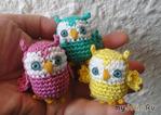 Маленькая сова Little Owl Crochet