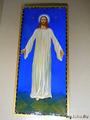 список с иконы Христа кисти священномученика Серафима. Освящен в Троицком соборе