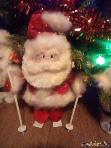 Игрушка под ёлку:Дед Мороз